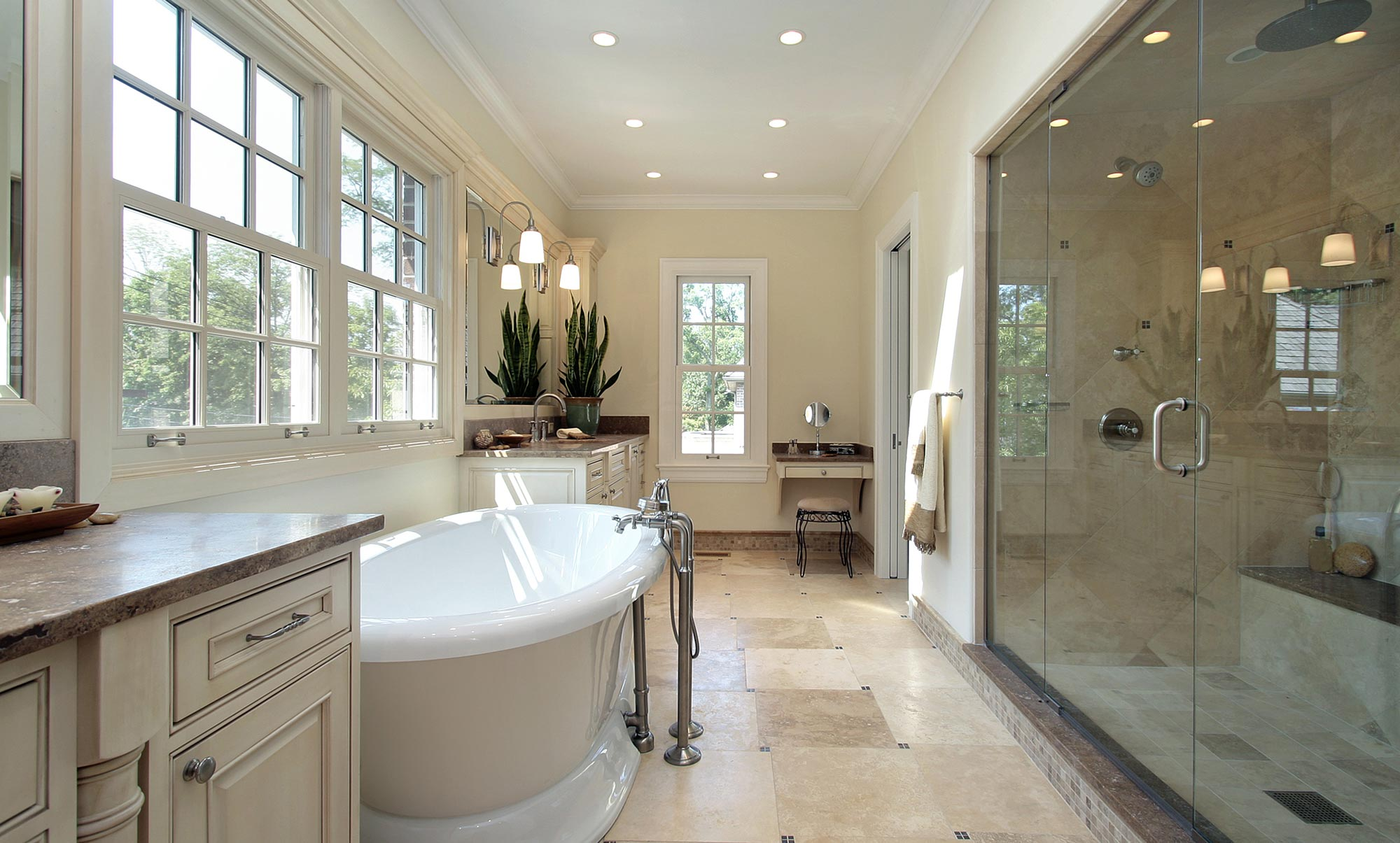 Photo of bathroom with tub